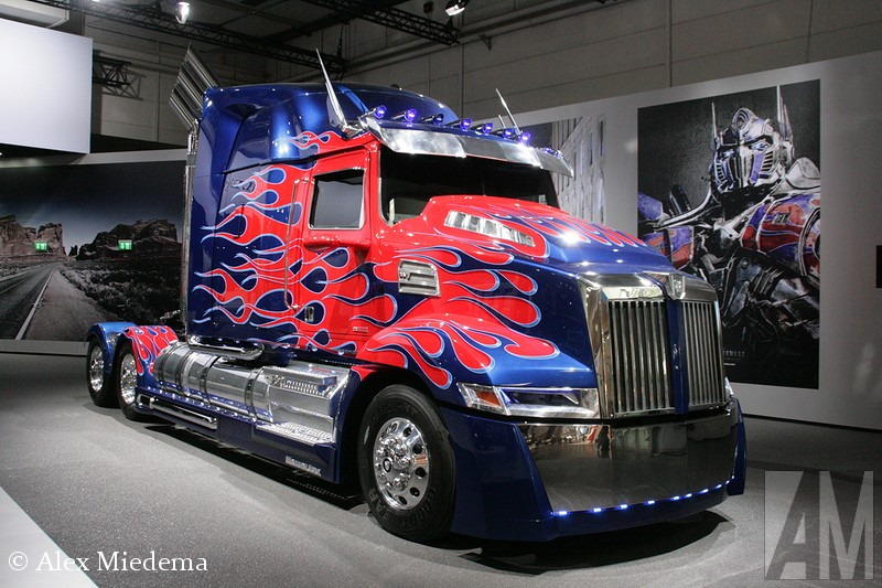 Western Star Optimus Prime